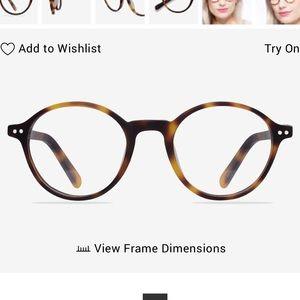 Round Matte Tortoiseshell Glasses